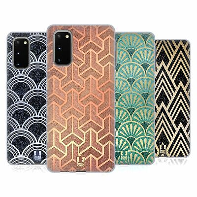 Head Case Designs Textured Art Deco Patterns Soft Gel Case For Samsung Phones 1 • 7.95£
