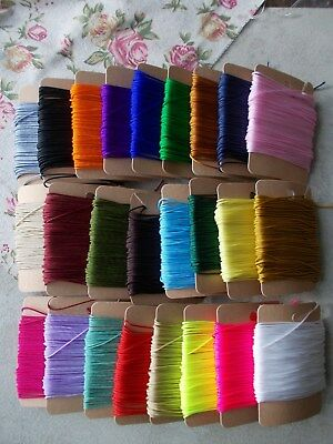 £2.99 • Buy 0.8mm Jewellery String/cord For Necklace,bracelet, Nylon Thin Stringing Beads