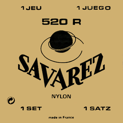 $ CDN15.30 • Buy Savarez 520 R Nylon Normal Tension Classic Acoustic Guitar Strings 520R Set