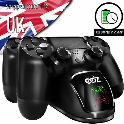 AU19.72 • Buy PS4 Dual Controller Fast Charger Charging Dock Station Stand Dualshock Gamepad