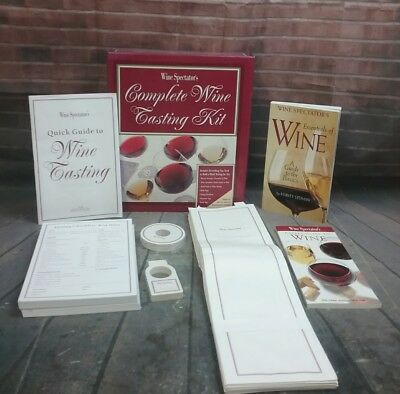Wine Spectator's Complete Wine Tasting Kit -GREAT CONDITION!   • 18.16$