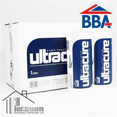 £150 • Buy ULTRACURE DPC Injection Cream 10 X 1L | Damp Proof Course Rising Damp Treatment