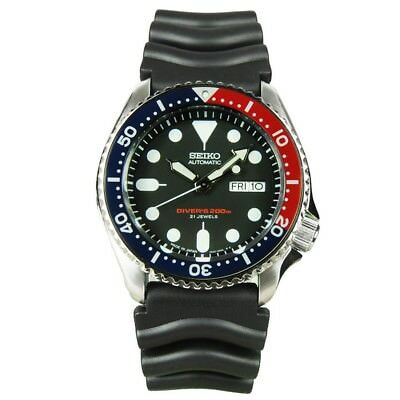 $ CDN478.41 • Buy Seiko SKX009 J1 Automatic Blue & Red Men's Analog Divers Watch Made In Japan