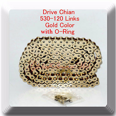 AU40.48 • Buy (With O-Ring) Gold Color Chain Motorcycle For Harley Sportster Dyna