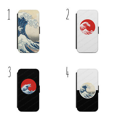 Kaiju Wave Wallet Flip Case Cover IPhone Samsung • 9.36£