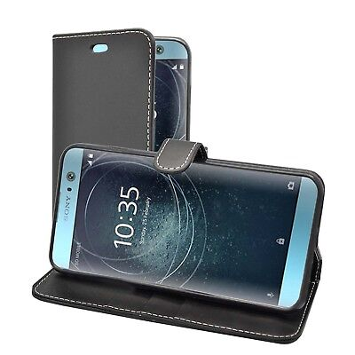 AU7.11 • Buy  Case For Sony Xperia Xa2 Wallet Flip PU Leather In Various Colours Phone Cover