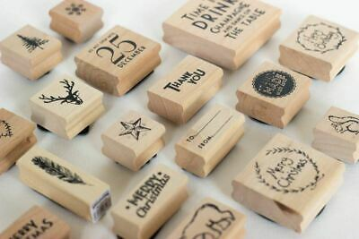 £4.25 • Buy Craft Rubber Stamps | East Of India Scrapbooking Stamping Art Project Christmas