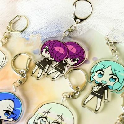 $ CDN6.33 • Buy Anime Houseki No Kuni Phosphophyllite Cinnabar Diamond Pendant Keychain Keyring