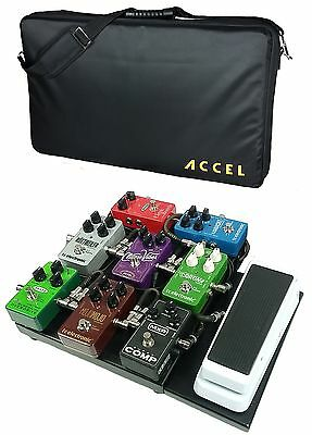 $ CDN166.25 • Buy Accel XTA10 Pro Compact Guitar Effects Pedal Board, Wha/ Volume Extension & Tote