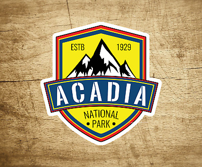 $4.99 • Buy Acadia National Park Maine Sticker Decal 3  X 3  Vacation