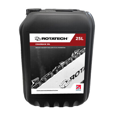 £41.99 • Buy Rotatech ISO 100 25L Universal Chainsaw Chain & Bar Oil For All Makes & Models