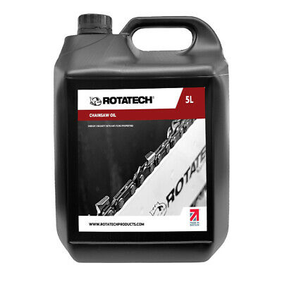 £13.99 • Buy Rotatech ISO 100 Universal Chainsaw Chain & Bar Oil 5L For All Makes & Models