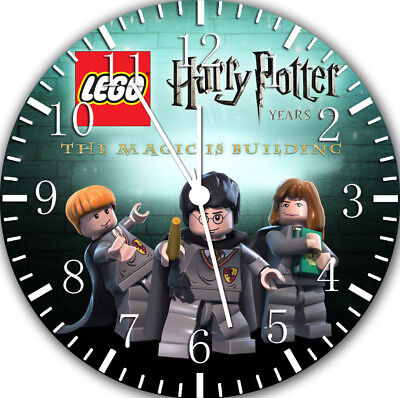 Lego Harry Potter Frameless Borderless Wall Clock Nice For Gifts Or Decor W14 • 12.41£
