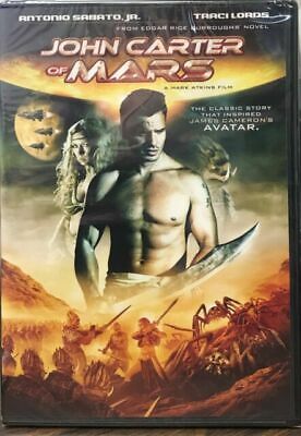 Used,Good DVD John Carter Of Mars (2009)~Mark Atkins,Matt Lasky, Antonio Sabato  • 1.98$