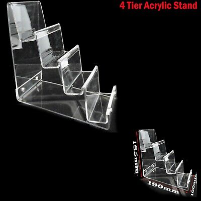 £15.39 • Buy Small  4-tier Clear Strong Acrylic Purse Retail Fashion Shop Display Stand