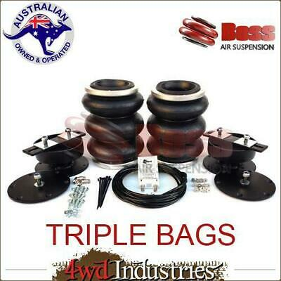 AU645 • Buy LA09T BOSS TRIPLE Air Bag For Landcruiser Series 70/76/78/79 VDJ79R V8 LA-09T