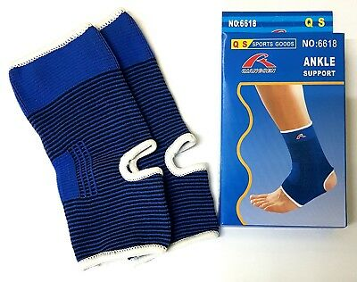£2.80 • Buy 2 X Elastic Ankle Support Protection Sport Gym Sock Running Injury Sprain