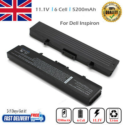 NEW Battery GW240 X284G For Dell Inspiron 1525 1526 1440 1545 1546 1750 5200mAh • 12.49£