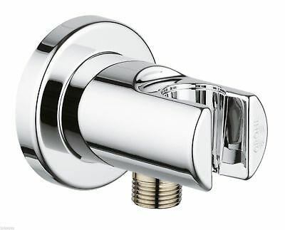Grohe Relaxa Chrome 1/2  Shower Outlet Elbow 28628000 Brand New Boxed • 22.95£
