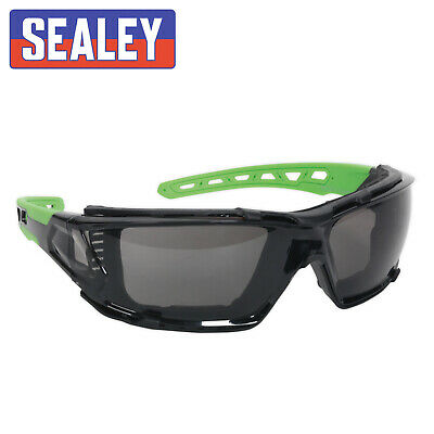 £8.10 • Buy Sealey Polycarbonate Safety Glasses Goggles EVA Foam Lining Tinted SSP69