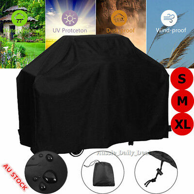 AU22.59 • Buy BBQ Cover 2/4/6 Burner Waterproof Outdoor UV Gas Charcoal Barbecue Protector AU