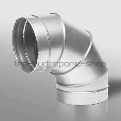 90 Degree Bend Grow Room Ventilation Duct Pipe 4 Inch 100mm Hydroponics • 9.99£