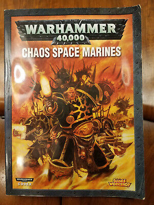 £5.66 • Buy Chaos Space Marines 2007 Codex Softcover Warhammer 40K
