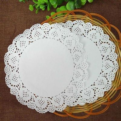 £2.95 • Buy 40 Pcs Paper Party Doilies Doily Lace Doyleys Catering Wedding Round Tea Food UK