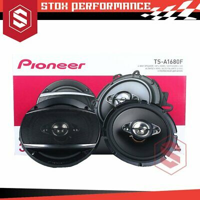 AU129 • Buy Pioneer TS-A1680F 6.5  4-Way 350Watts Peak 4-Ohms Coaxial Car Speakers