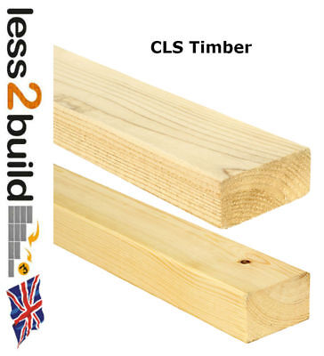 CLS Stud Wall Timber - 3x2 Or 4x2 - Select Length 2.4m Or 3.0m • 9.50£