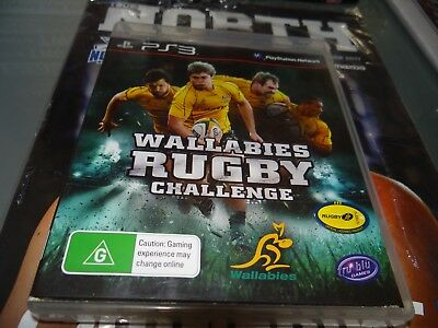 AU6.90 • Buy Wallabies Rugby Challenge Ps3 Playstation 3
