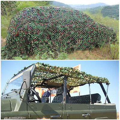 £14.99 • Buy Camo Net Camouflage Netting Hunting Shooting Hide Army Woodland Truck Shelter