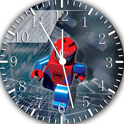 Lego Spiderman Frameless Borderless Wall Clock Nice For Gifts Or Decor W426 • 12.41£