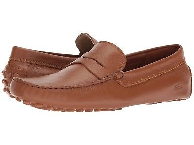 1415f149c Men s Shoes Lacoste Concours 118 Leather Loafer CAM0118013 TAN  New  •  94.95