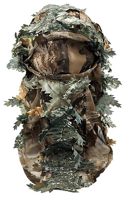 £7.90 • Buy 3d Ghillie Mask Face Camo Camouflage Leaves Woods Paintball Pigeon Shooting
