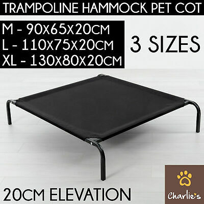 AU47.55 • Buy Charlie's Portable Heavy Duty Trampoline Hammock Outdoor Resting Cat Dog Pet Bed