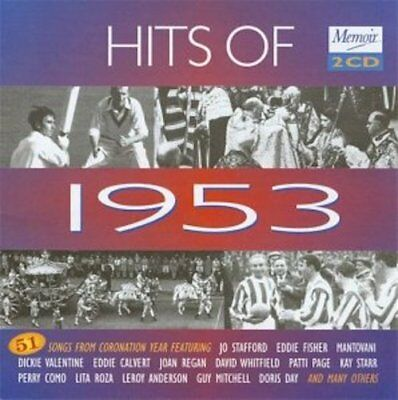 £1.99 • Buy Various Artists - Hits Of 1953 - 51 Songs On 2 CD's (2004) *New & Sealed*