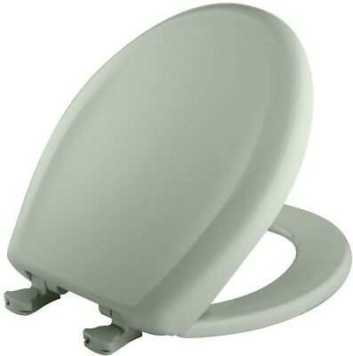 £45.21 • Buy Toilet Seat Round Plastic Closed Front In Sea Mist Green With WhisperClose Hinge