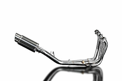 AU708.84 • Buy Kawasaki Z900RS Delkevic 4-1 Aftermarket Exhaust Mini 8  Carbon Round Muffler