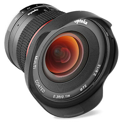 $ CDN271.04 • Buy Opteka 12mm F/2.8 Lens For Sony E Mount NEX A6500 A6300 A6000 A5100 A5000 A3000