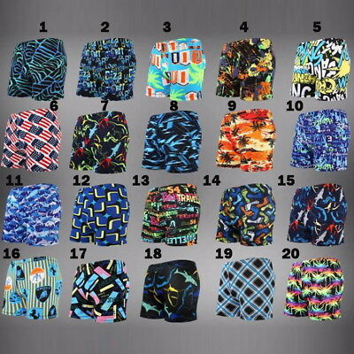 Mens Bademoden Beach Swimming Trunks Shorts Beach Fitted Stretch Funky Pattern  • 2.99£