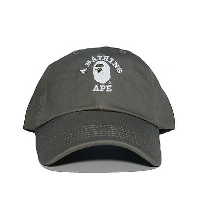 $ CDN32.43 • Buy  A BATHING APE  Embroidered Dad Hat (BAPE HEAD Supreme AAPE Unsturctured COLORS)