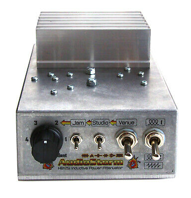$ CDN287.87 • Buy AudioStorm HotBox 125i Inductive Power Attenuator For Valve / Tube Guitar Amp.