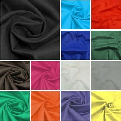 £8.40 • Buy Cotton Drill Fabric Twill Material Ideal For Uniforms, Workwear & Furnishing