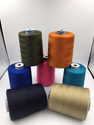 Güterman Polyester-Heavy Duty Sewing Machine Thread M36 Upholstery 1000m Spools  • 5.95£
