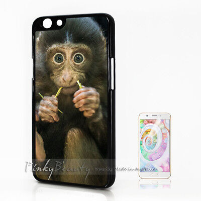 AU9.99 • Buy ( For Oppo A57 ) Back Case Cover P30078 Cute Monkey