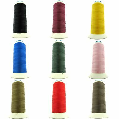£9.99 • Buy ** 500m SPOOLS Of BONDED NYLON 40's THREAD - CHOOSE FROM 15 ASSORTED COLOURS
