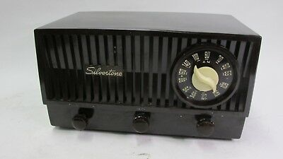 $ CDN125.60 • Buy VINTAGE RARE 1952 SILVERTONE 25 AM-FM RADIO - For Restoration