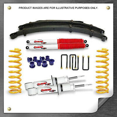 AU1460.75 • Buy Raw Leaf 2  50mm Lift Kit For TOYOTA HILUX KUN26 N70 Rancho Shocks King Springs