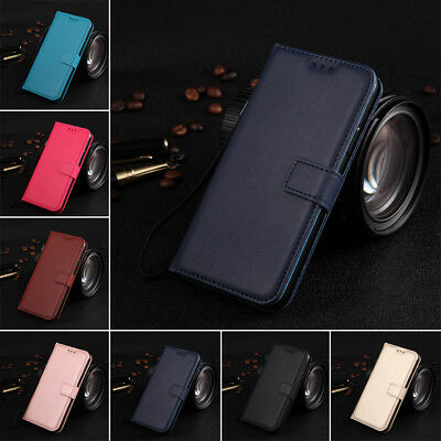 $ CDN5.75 • Buy For Samsung S5 S6 S7 S8 S9 Plus Magnetic PU Leather Wallet Flip Stand Case Cover
